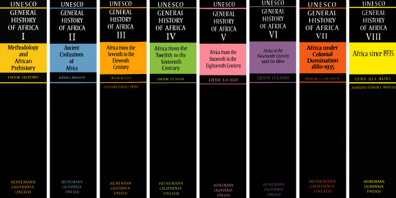 General_History_of_Africa_Volumes